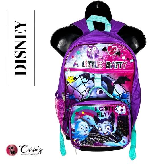 DISNEY Little Batty Backpack & Lunchbox Combo